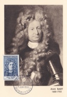 Jean Bart No 1167 Sur Carte Maximum CaD De Dunkerque Du 7 Juin 1956 - Maximum Cards