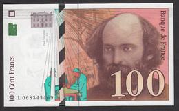 100 Francs Cézanne De 1998 - Fay 74/2 En Neuf - 1992-2000 Last Series