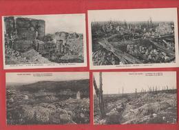 Lot De 11 Cp Du Chemin Des Dames 02 - 1914-18