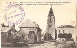 """Dépt 77 - BARCY - Cachet """"POSTE DES PRISONNIERS De GUERRE - Le Chef De Détachement - TRILBARDOU (S.-&-M.)"""" - Guerre 1914 - France"""