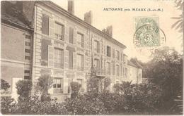 Dépt 77 - CHAMBRY - Automne Près MEAUX (château) - France