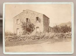 Photo 11x8 Cm Collée Sur Carton 118x88 Cm. Annotation Au Dos : école De Tibane (Algérie)   (0001) - Africa