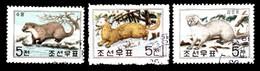 JAPON / LOT DE 3 TIMBRES FOUINE ZIBELINE - Stamps