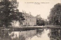 D49  ALLONNES  Le Château Du Pré - Allonnes