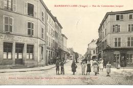 Rambervillers -  Rue Du Commandant Jacquot - Rambervillers