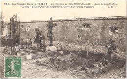 Dépt 77 - CHAMBRY - Le Cimetière Après La Bataille De La Marne - Tombe D'Ernest MOREAU - (Éditeur : A.R. N° 275) - Autres Communes