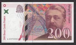 200 Francs Eiffel De 1996 - Fay 75/3a En Neuf - 1992-2000 Last Series