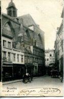 N°70022 -cpa Bruxelles -église St Nicolas- - Monuments, édifices