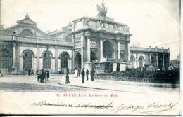 N°70023 -cpa Bruxelles -la Gare Du Midi- - Chemins De Fer, Gares