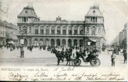 N°70025 -cpa Bruxelles -gare Du Nord- - Chemins De Fer, Gares