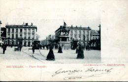 N°70026 -cpa Bruxelles -place Royale- - Places, Squares