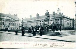N°70027 -cpa Bruxelles -place Des Marthyrs- - Places, Squares