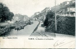N°70030 -cpa Namur -la Sambre Et La Citadelle- - Namur
