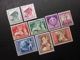 D.R.Mi 692/693 Satz*MLH / 816/817 Satz*MLH / 818/819*MLH / 820-822MLH*- 1939/1942 - Mi 7,50 € - Germany