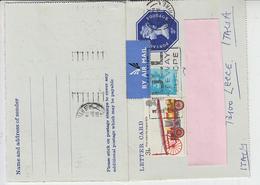 GRAN BRETAGNA  1974 - Letter Card Per L'Italia - Interi Postali