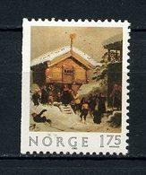 NORVEGE 1982 N° 831 ** Neuf MNH Superbe Noël Christmas Tradition D' Adolf Tidemand Peinture - Norvège