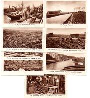 Lot De 7 Images Photos Régionales. Lens, Dunkerque, Aniche, Iwuy, Les Flandres, Les Mines De Lens, Les Filatures. - Vieux Papiers