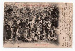 Caucasian Types. Tushin People And Priest. - Géorgie
