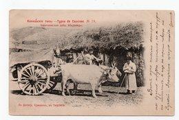 Caucasian Types. Abadzin People. - Géorgie