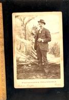 Photographie Cabinet : Homme Costume Mode 1900  / Atelier Photographe C FERRAFIAT 3 Rue Masséna TOULON Var - Personnes Anonymes
