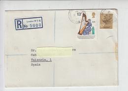 GRAN BRETAGNA  1977 - Raccoamndata Per Spagna - 1952-.... (Elisabetta II)