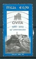 2013 CIVITA  USATO - 6. 1946-.. Repubblica