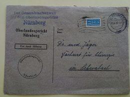 Oberlandesgericht Nurnberg  - Cover - Stamp - Stamps - BRD