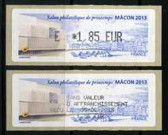 LISA 1,85e   SALON PHILATELIQUE DE PRINTEMPS  MACON 2013  NEUVE ** - 2010-... Vignettes Illustrées