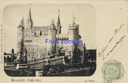 BE - Souvenir D'Anvers Le Steen - 1900 - Antwerpen