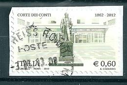 2012 CORTE DEI CONTI USATO - 6. 1946-.. Repubblica