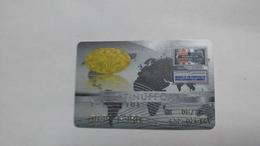 Israel-crediet Card(656)(owners Club)-used Card+1card Prepiad Free - Geldkarten (Ablauf Min. 10 Jahre)