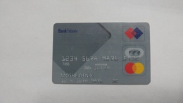 Israel-crediet Card(659)(sample Card-bank Tel Aviv)-used Card+1card Prepiad Free - Cartes De Crédit (expiration Min. 10 Ans)