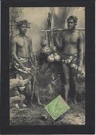 CPA Tahiti Océanie Polynésie Française Circulé Types - Tahiti