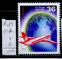 Canada - Kanada 1987 Y&T N°1019 - Michel N°1058 Nsg - 36c Air Canada - Ungebraucht