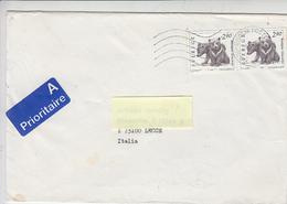 SVEZIA 1994 -  - Unificato 1738 - Lettera Per L''Italia - Fauna - Orsi - Svezia