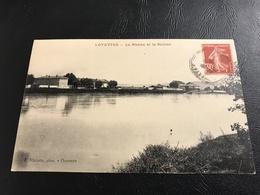 LOYETTES Le Rhone Et Le Sablon - 1938 Timbrée - France
