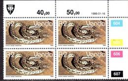 Venda - 1986 Reptiles R2 Control Block (1986.01.16) (**) - Venda