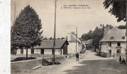 NEUVIC-D'USSEL QUARTIER DE LA GARE - France