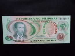 PHILIPPINES : 5 PISO  ND  P 160b    NEUF - Philippines