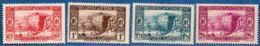 Algerie, 1937 Centennaire De La Prise De Constantine, 4 Val. MH Paysage, Occupation , Rhumel Gorge - History