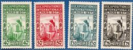 Algerie, 1937 Exposititon Internationale Paris, 4 Val. MH World Expo - Universal Expositions