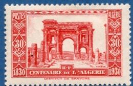 Algerie, 1930 30 + 30 C Ruins De Timgad, Thamugadi Site Romaine-berber 1 Val. MH Roman-Berber City - Archaeology