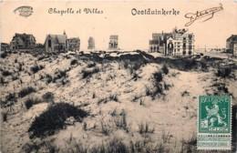 Coxyde - Oostduinkerke -  Edit. Marcovici  - Chapelle Et Villas - Koksijde