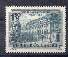 AUTRICHE   Timbre Neuf * * De 1953  ( Ref 1040G ) - 1945-60 Unused Stamps
