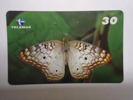 BRAZIL USED CARDS BUTTERFLIES - Butterflies
