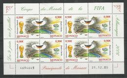 MONACO - MNH - Sport - Soccer - World Cup 2006 - FIFA - World Cup