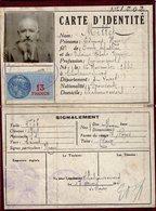VP13.641 - MILITARIA - CHATEAURENARD 1941 - Police - Carte D'Identité Mr E.M. MILLET - Police & Gendarmerie
