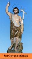 Fossacesia CH - Santino SAN GIOVANNI BATTISTA Abbazia San Giovanni In Venere, Padri Passionisti - PERFETTO P85 - Religione & Esoterismo
