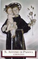 Limosano (Campobasso) - Santino SANT'ANTONIO DI PADOVA - PERFETTO P85 - Religione & Esoterismo