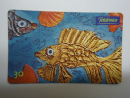 BRAZIL USED CARDS FISH FISHES MARINE LIFE - Fish